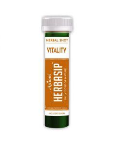 Axiom Herbasip Vitality Juice Shots-50ml Pack of 12 Shots