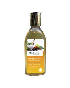 Axiom Mukti Gold Herbal Hair oil-100ml pack of 2pc