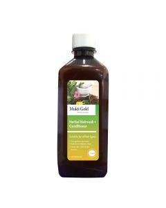 Axiom Mukti Gold Herbal Hairwash with conditioner-200ml