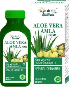 Ayukriti Herbal Aloe Vera Amla Juice -500ml