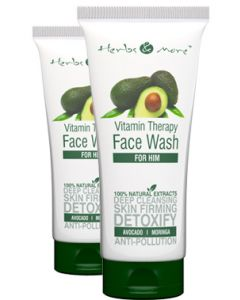 Netsurf Herbs & More Face Wash for HIM-100 gm