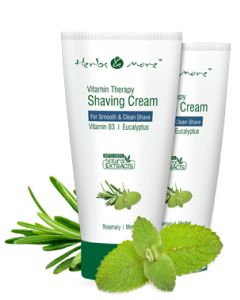 Netsurf Herbs & More Vitamin Therapy Shaving Cream-75 gm