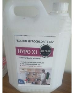 Biotech Hypo X1 Disinfectant-5Ltr
