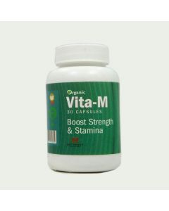 Butterfly Ayurveda Vita-M - Boost Strength & Stamina-30 Capsules
