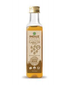 Induz Organic Charismatic Castor Oil (Cold Pressed) -100Ml.