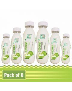 Axiom AloFrut 100% Natural Tender Coconut Water-200ml Pack of 6pc