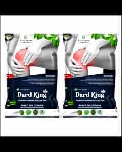 Kaahan Ayurveda Dard King Powder-120gm Pack of 2pc