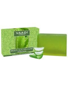 Vaadi Herbals Breezy Aloe Vera Soap (Soft Skin Therapy) -75 gms