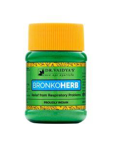 Dr. Vaidya's Bronkoherb Powder Pack of 2-(100gm)Asthma & Respiratory Problems
