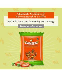 Dr. Vaidya's Chakaash - Chyawanprash Toffee (Pack of50 toffees X 2)