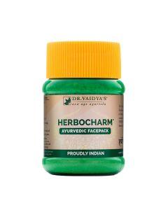 Dr. Vaidya's Herbocharm Powder Pack of 2(100gm) Facepack for Clear Skin