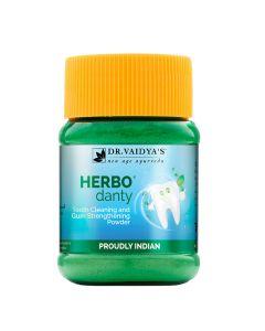 Dr. Vaidya's Herbodanty Powder Pack of 2(100gm)Natural Tooth Powder