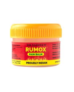 Dr. Vaidya's Rumox - 12g Pack of 2 - Muscle & Joint Pain Balm