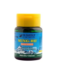 Dr. Vaidya's Sung-Ho Pack of 3 - Cold Sinus and Decongestion
