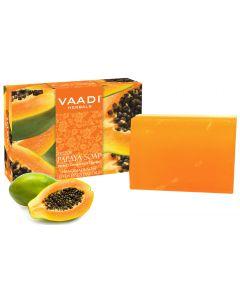Vaadi Herbals Fresh Papaya Soap (Perfect Complexion Therapy)-75 gms
