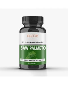 Elcon Saw Palmetto 300mg With Nettle Root 160mg Capsule