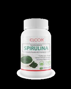 Elcon Spirulina 500mg Capsule
