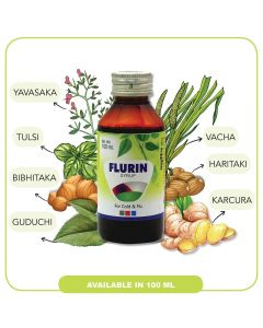 United Pharmaceuticals Flurin syrup-100ml
