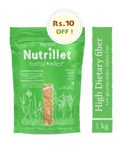 Pristine Organics Nutrillet Foxtail Millet-1kg