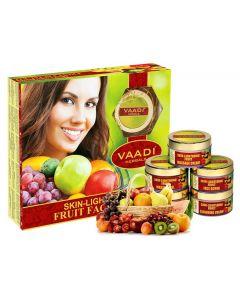 VAADI HERBALS Skin Lightening Fruit Facial Kit -270 gms