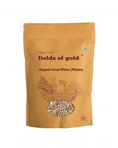 Pristine Fields of Gold Organic Urad White (Whole)-1kg