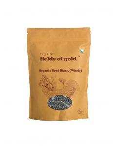 Pristine Fields of Gold Organic Urad Black (Whole)-500gm