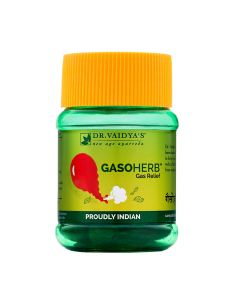 Dr. Vaidya's Gasoherb Pills Pack of 2 Gas and Indigestion-60 Pills