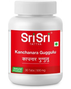 Sri Sri Tattva Kanchanara Guggulu 500Mg Tablet-30Count
