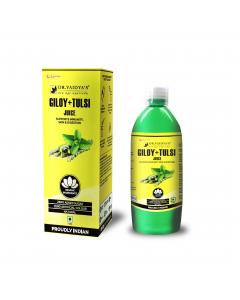 Dr. Vaidya's Giloy and Tulsi Juice - 1 Litre