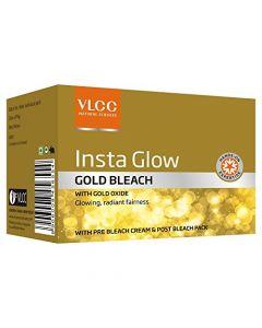 Vlcc Insta Glow Gold Bleach-60gm