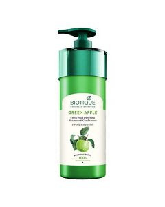 Biotique Bio Green Apple Fresh Daily Purifying Shampoo & Conditioner For Oily Scalp and Hair-800ml