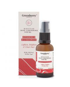 Greenberry Organics Bio Active Skin Lightening Face Gel-30Ml