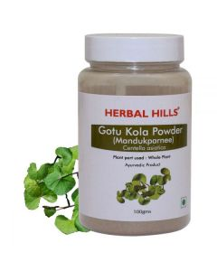 Herbal Hills Gotukola Powder-100gm