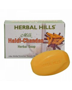 Herbal Hills Milk haldi chandan soap-100gm