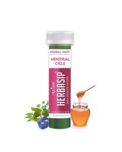 Axiom Herbasip Menstrual Cycle juice Shots-50ml Pack of 12 Shots