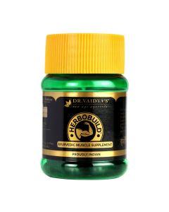 Dr. Vaidya's Herbobuild Pack Of 1-30 capsules