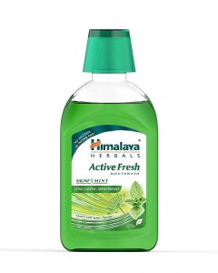 Himalaya Herbals Active Fresh Mouthwash-215ml