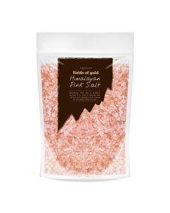 Pristine Organics Fields of Gold Rock Salt Granules-500gm
