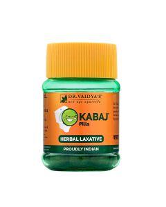 Dr. Vaidya's Kabaj Pills Pack of 2 Constipation & Indigestion-60 Pills