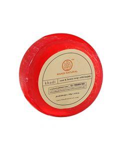 Khadi Natural Rose & Honey Soap-100gm
