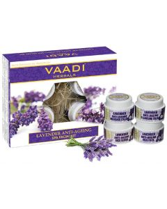 VAADI HERBALS Lavender & Rosemary SPA Facial Kit-70 gms
