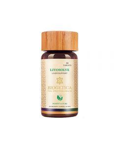 Biogetica Livosolve - 80 Tab bottle