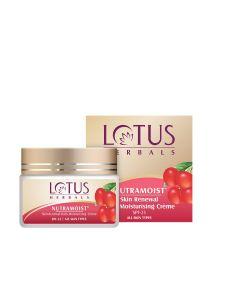 Lotus Herbals Nutramoist Skin Renewal Daily Moisturising Creme SPF 25-50gm