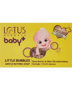 Lotus Herbals baby Little Bubbles Gentle Bathing Soap-75gm Pack of 3pc