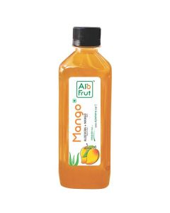 Axiom AloFrut Mango Aloevera  Juice-1000ml Pack of 2pc