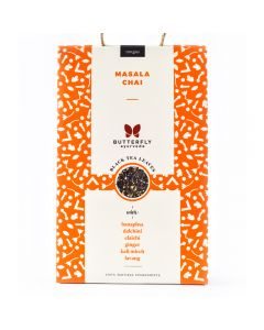 Butterfly Ayurveda Masala Chai with Assam Black Tea Leaves-100gm