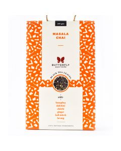 Butterfly Ayurveda Masala Chai with Assam Black Tea Leaves-200gm