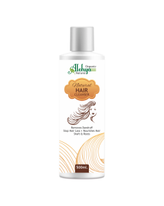 Alohya Natural Hair Cleanser Shampoo-500ml