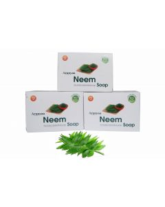 Aranyaa Neem Soap-75gm Pack of 3pc