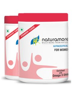 Netsurf Naturamore for Women Strawberry Flavour-250gm